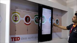 Sliding Screen Augmented Reality Display