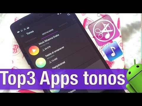 Top 3: Apps de tonos para ANDROID 2017 (Crear o Descargar Ringtones Gratis)