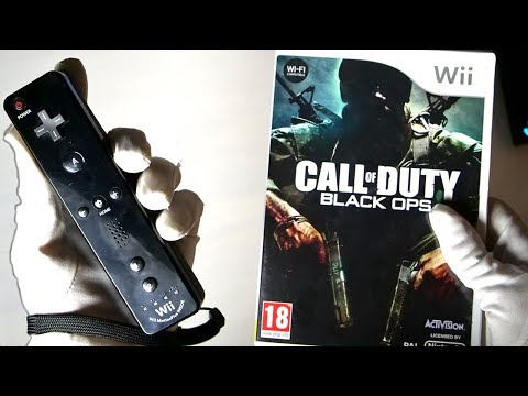 CALL OF DUTY w/ WII REMOTE CHALLENGE! CoD Black Ops Zombies Gameplay