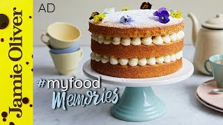 Lemon Sponge Cake | Cupcake Jemma | #MyFoodMemories | AD
