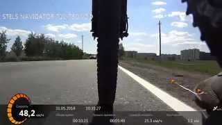 Мотор колесо в действии, езда по городу(Видео на тему типичный день электро велосипедиста) Примерно так я езжу с дачи на работу и обратно. / Есть..., 2014-05-31T15:19:49.000Z)