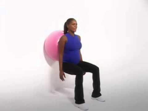 exercice de nestl materna pour les femmes enceintes flexion des jambes youtube. Black Bedroom Furniture Sets. Home Design Ideas