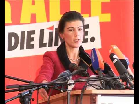 Politischer Aschermittwoch 2010: Sahra Wagenknecht thumbnail