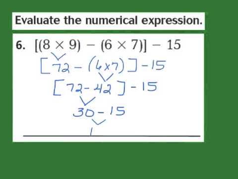 Lesson 1.12 Grouping Symbols