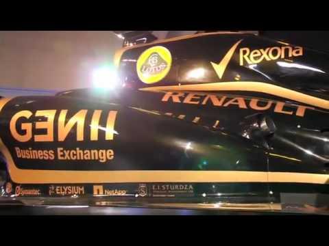 Lotus F1 E20 - Präsentation
