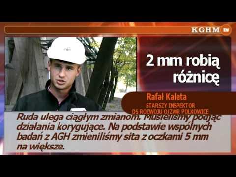 Nowy przesiewacz w ZWR Polkowice