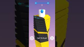 Stack Ball 3D Level 61-70 Gameplay Walkthrough