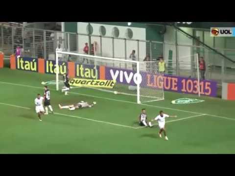 Atlético MG 1 x 1 Fluminense, GOLS   Brasileirão 2016