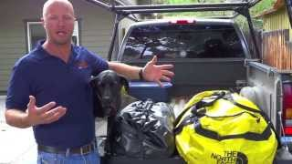 How To Pack For Your Motorcycle Trip: 2 Duffel Bag System