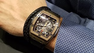 Hands on with the Hublot Spirit of Big Bang in Magic Gold