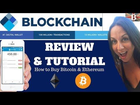 Blockchain.info Tutorial: Beginners Guide to Buying & Storing Bitcoin, Bitcoin Cash & Ethereum
