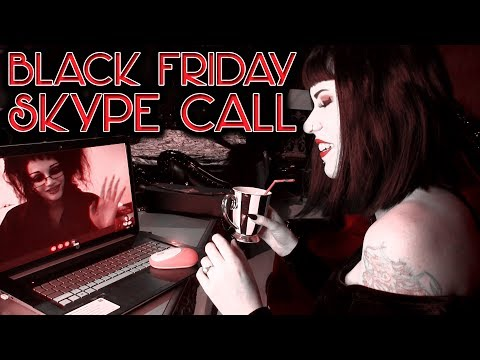 My Skype Call With ITS BLACK FRIDAY About Her Handbag  | Avelina De Moray
