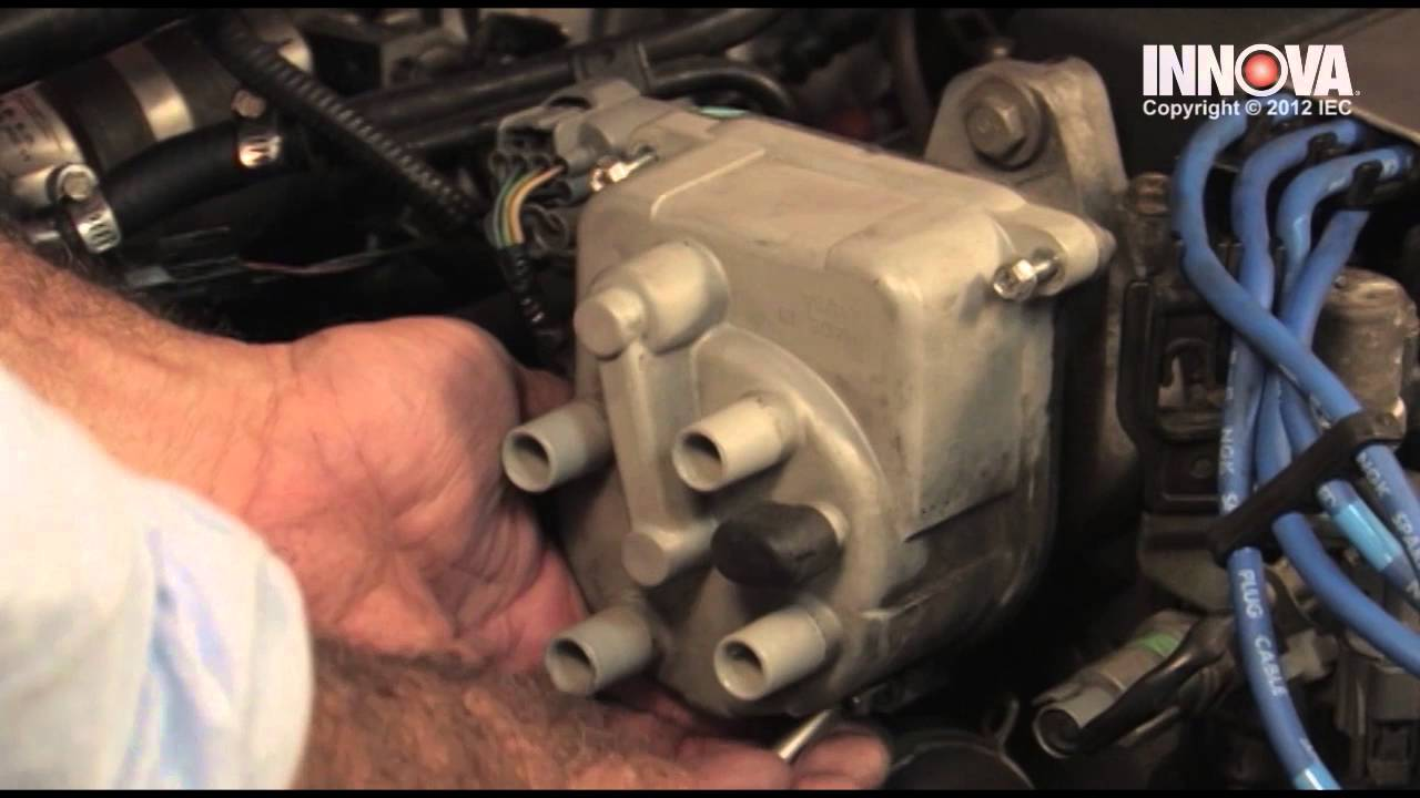 How To Change Distributor Cap And Rotor 2000 Honda Civic Youtube 1999 Wiring Diagram