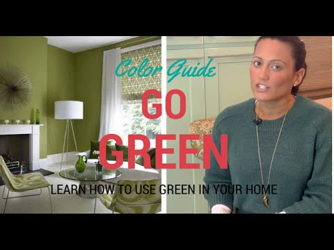 How to Use Green in Home Decor