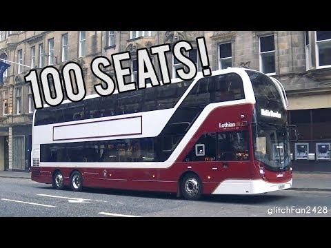 [LRT] 13.8 Metre 100 Seater Buses Enter Service On Lothian Buses 100th Anniversary! - Edinburgh, UK