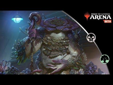 SAPROLING TRIBAL RETURNS  BG Fungus Tribal  MTG Arena Gameplay and Guide