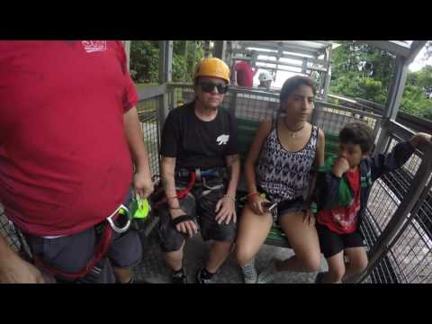 Zip Lining In Costa Rica 2016