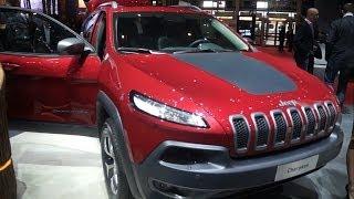 Jeep Cherokee 2015 и другие в Женеве.Часть 5.
