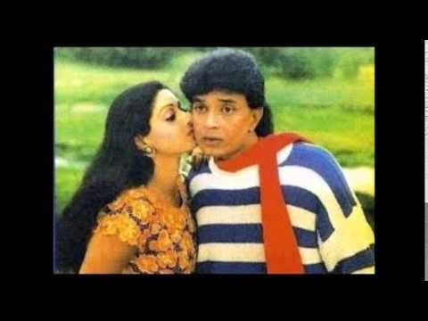 Sridevi and Mithun chakraborty, Guru 1989
