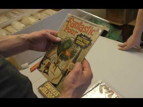 Unboxing a $6,500 Silver Age Comic Book Collection Part 1 of 3 | Sell My Comic Books