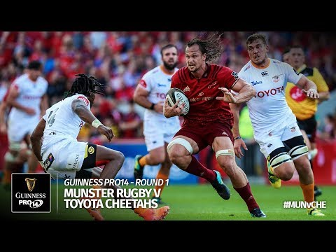Guinness PRO14 Round 1 Highlights: Munster Rugby v Toyota Cheetahs