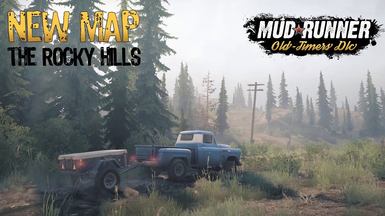 Spintires: MudRunner - Old Timers DLC review for Nintendo Switch