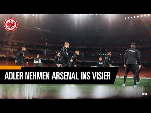 """""""In der Europa League packen wir eine Schippe drauf"""" I Arsenal London - Eintracht Frankfurt"""