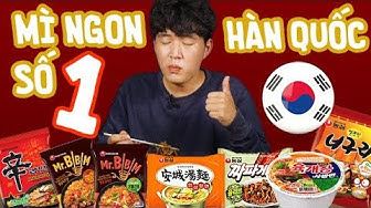 ĐI TÌM MÌ GÓI NGON NHẤT HÀN QUỐC | KOREAN NOODLES | CHÁP CHÁP CÙNG WOOSSI