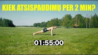 2 minučių atsispaudimų testas / 2 minutes Push-Up Test