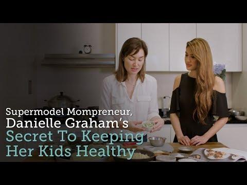 Supermodel Mompreneur, Danielle Graham's Secret To Keeping Her Kids Healthy