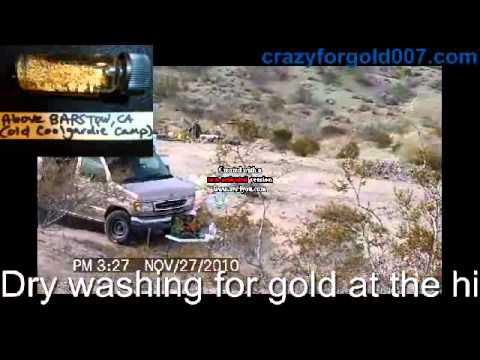 Drywashing For Gold At The Old Coolgardie Mining Camp - Just North Of Barstow, California 6