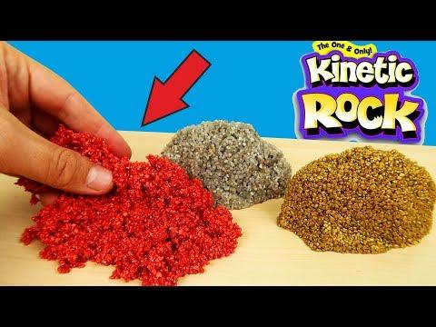 Новинка! Кинетический ГРАВИЙ! Kinetic Rock! Реакция муравьев на Кинетический Гравий! alex boyko