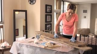 Building A Barn Board Headboard - Part 1 Of 4