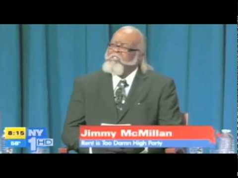 "Jimmy McMillan ""The Rent Is Too Damn High Party"" :: NY Governor Candidate"