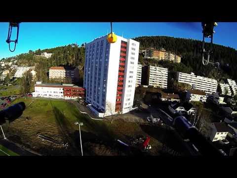 Quadcopter over Kjelsås, Oslo