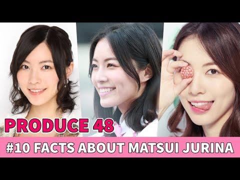 PRODUCE 48  10 FUN FACTS ABOUT MATSUI JURINA