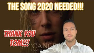 This Is All FACTS!!! Tom Outdid Himself!!! Tom Macdonald - Cancer [REACTION!!!] Emotional Song!!!