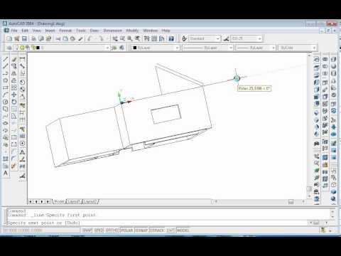 Proiect 3D in AutoCAD: casa / AutoCAD 3D Design: Home
