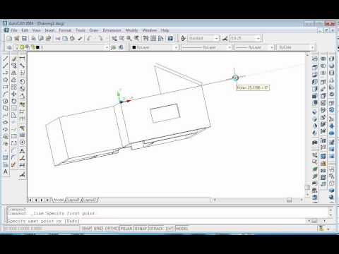 Proiect 3D in AutoCAD: casa / AutoCAD 3D Design: Home from YouTube · Duration:  24 minutes 11 seconds