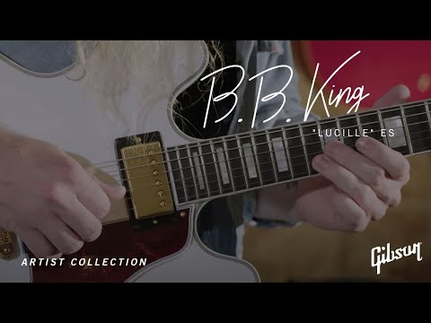 "Introducing the new Gibson B.B. King ""Lucille"" ES"