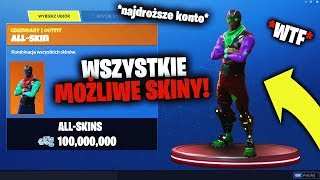YOU CAN HAVE ALL THE SKINS IN FORTNITE, SEE HOW! * By the end of December *