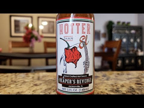 "Hotter Than El ""Reaper's Revenge"" Hot Sauce Review"