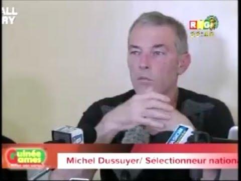 Football Factory -Michel Dussuyer, Syli National donne la liste des 23 guinéens