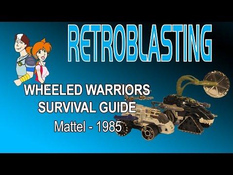 Wheeled Warriors Survival Guide  Vintage Mattel Toy