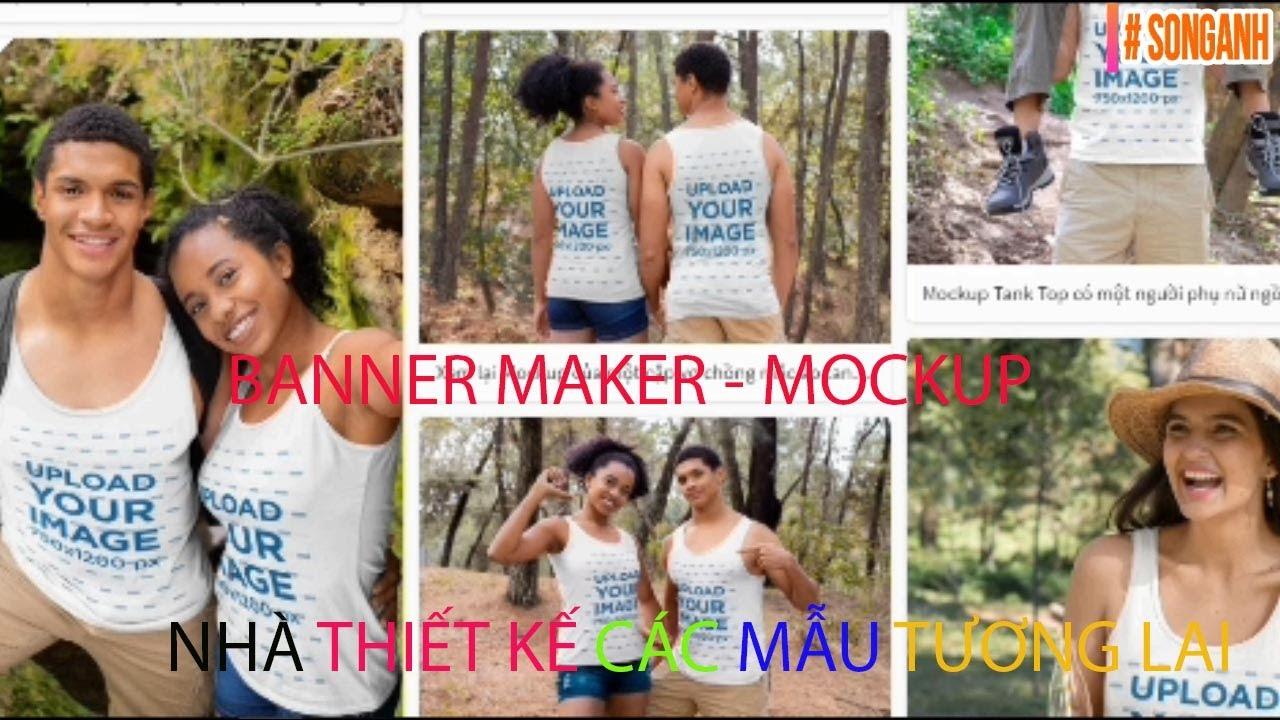 """Cách hướng dẫn """" banner maker""""mockup banner maker @SONGANH   Tất tần tật thông tin về thời trang nữ"""