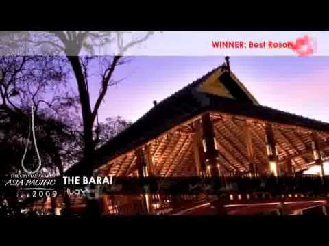 The Crystal Awards Asia Pacific 2009 - Best Resort Spa