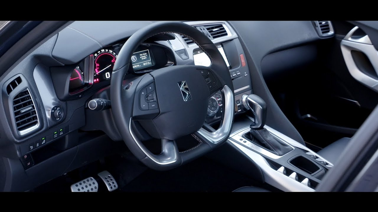 DS 5 Performance Line - Interior - YouTube