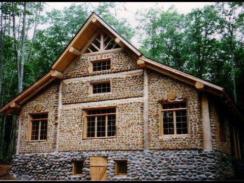 Дом из природных материалов своими руками