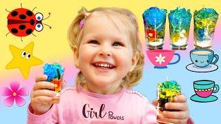 Эмили делает свечи - веселые развлечения дома Видео для детей   Kids videos