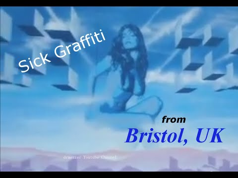 Sick Graffiti - Bristol, UK
